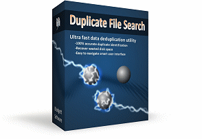 Duplicate File Search 1.0 software box